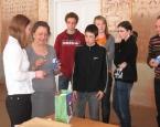 Школа вітала делегацію з Франції